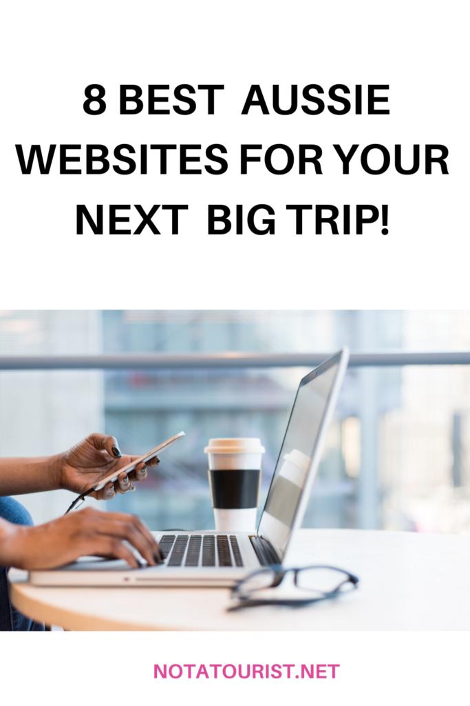 Best Australian travel websites.