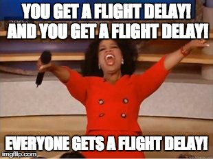 Flight delays and the reality of having travel plans cancelled indefinitely.