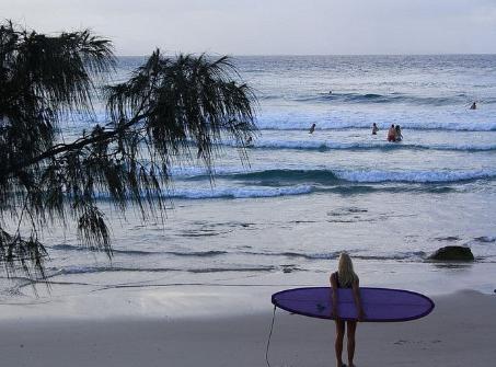 Visit Byron Bay, Australia. Wategoes Beach.