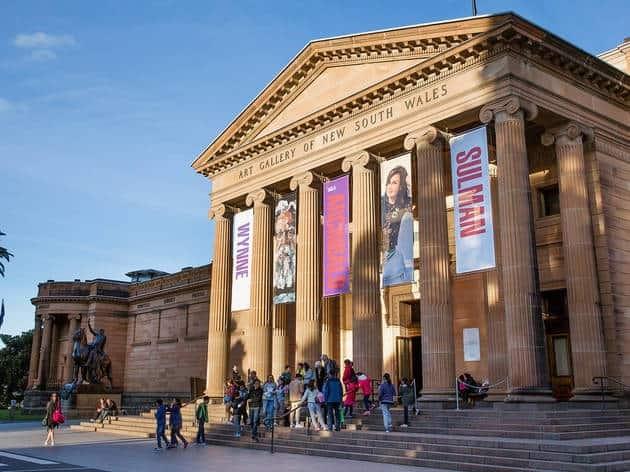 Art Gallery of NSW, Sydney, Australia.