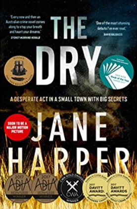 Best vacation books. The Dry by Jane Harper.