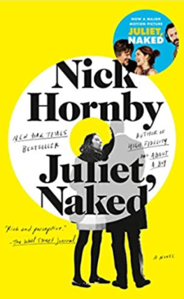 Best vacation books.  Juliet, Naked by Nick Hornby.