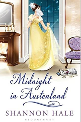 Best vacation books. Midnight in Austenland by Shannon Hale.