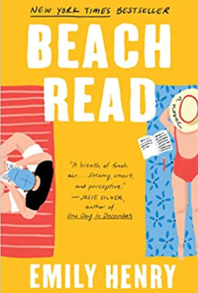 Best vacation books.  Beach Read by Emily Henry.