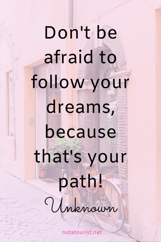 Travel quote, Empowering quotes. Quote life