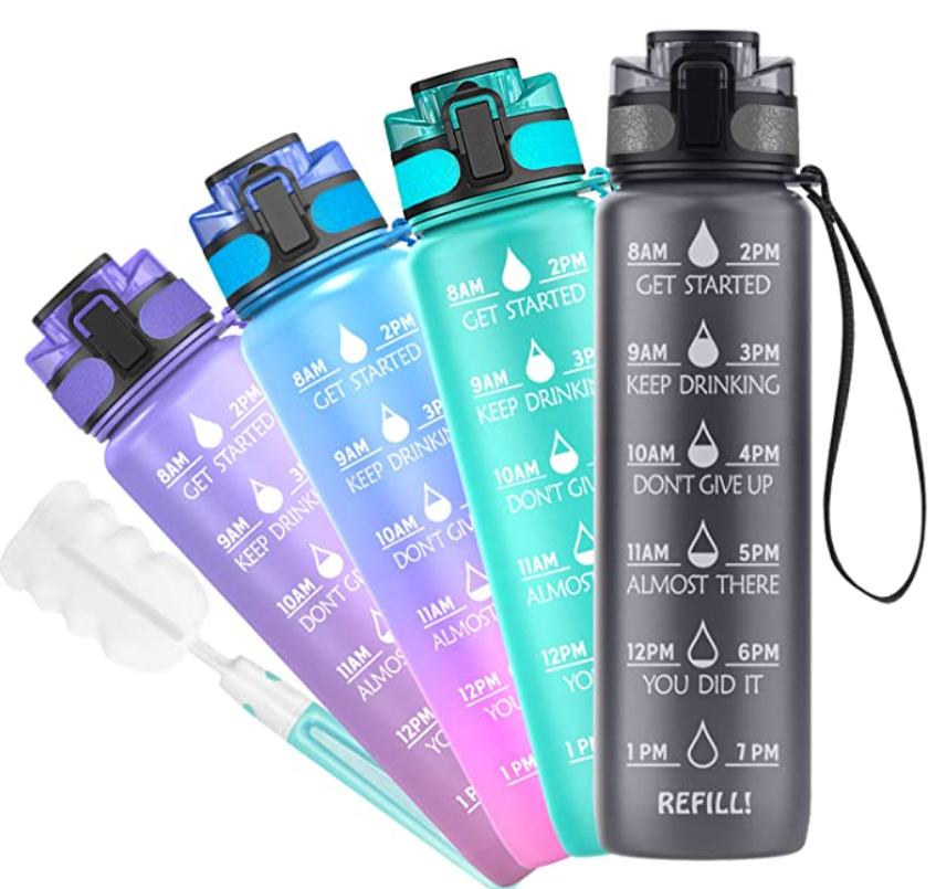 Budget Travel Essentials, Water Bottle.