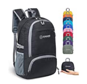 Best backpacks for travel, Zomake 30L backpack. Lightweight travel backpack,