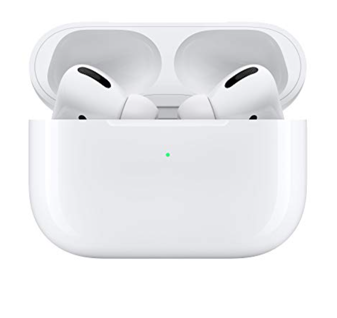Travel essentials for a holiday: Trackable Airpods.