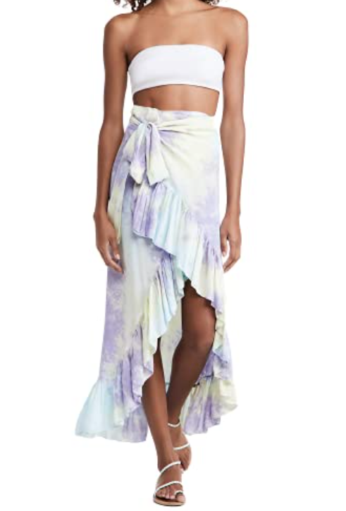 Travel essentials for a holiday: Summer beach skirt.